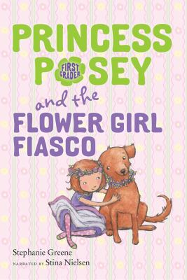 Princess posey and the flower girl fiasco image cover