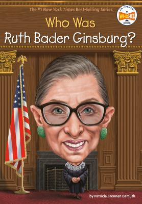Who Was Ruth Bader Ginsburg? image cover