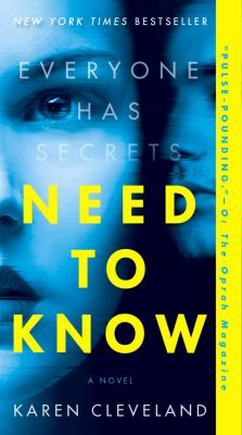 Need to Know image cover
