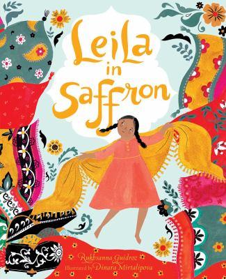Leila in saffron image cover