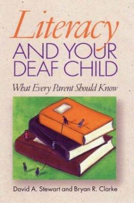 Literacy and your deaf child : image cover