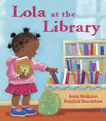Lola at the Library  image cover