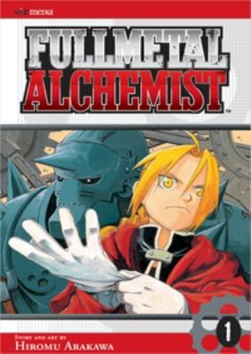 Fullmetal alchemist. 1 image cover