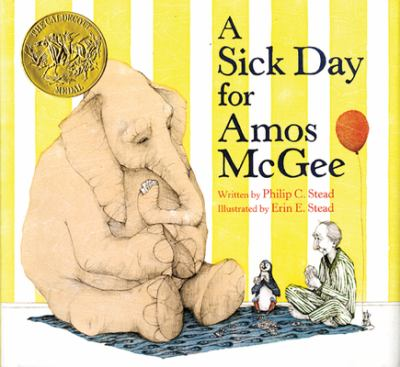 A Sick Day for Amos McGee image cover