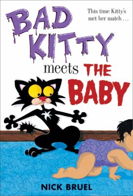 Bad kitty meets the baby image cover
