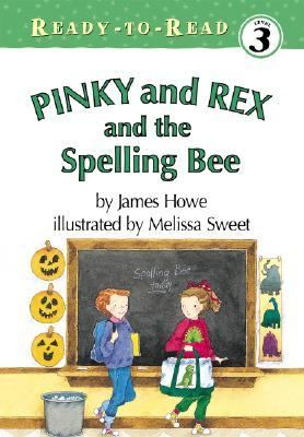 Pinky and Rex and the spelling bee image cover