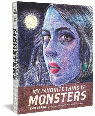 My Favorite Thing is Monsters. Book one  cover