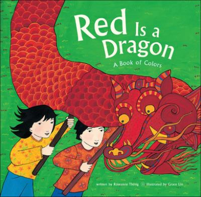 Red is a dragon : a book of colors image cover