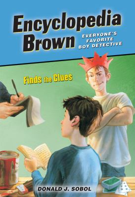 Encyclopedia Brown finds the clues image cover