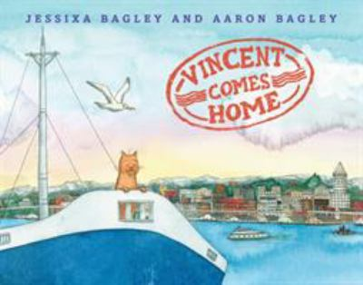 Cover image for Vincent comes home