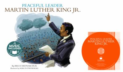 Peaceful leader : Martin Luther King Jr. image cover