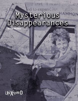 Mysterious Disappearances image cover