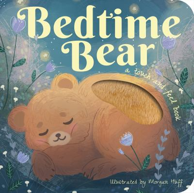 Bedtime Bear : a Touch-and-Feel Book image cover
