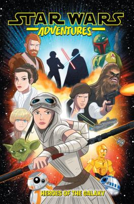 Star Wars Adventures Volume 1: Heroes of the Galaxy. image cover