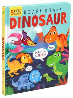 Roar! Roar! Dinosaur image cover