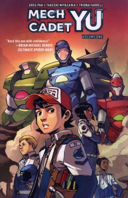 Mech Cadet Yu. Volume one image cover