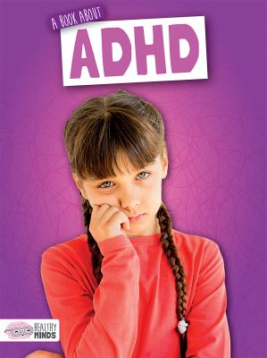A book about ADHD image cover