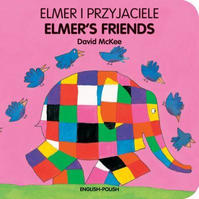 Elmer i przyjaciele = Elmer's friends image cover