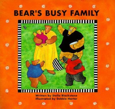 Bear's busy family image cover