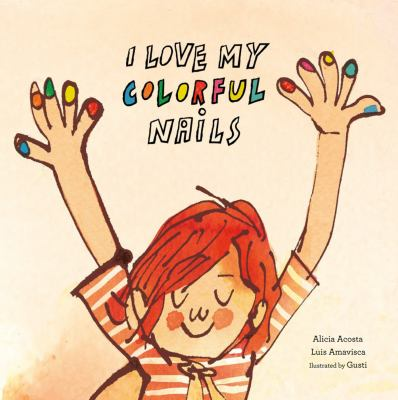 I Love my Colorful Nails image cover