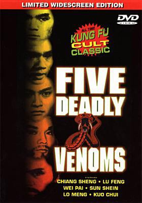 Five Deadly Venoms image cover