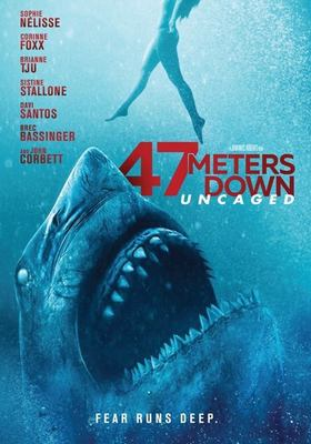 47 meters down. Uncaged image cover