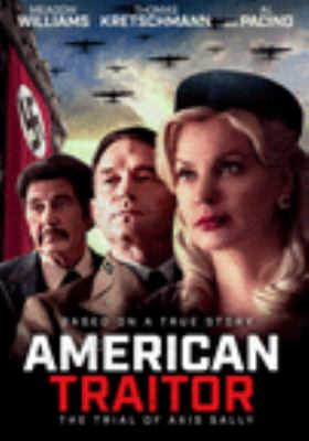 American traitor the trial of Axis Sally image cover