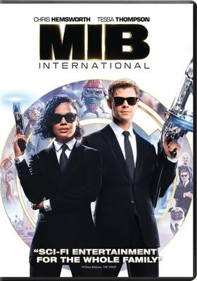Men in black. International image cover