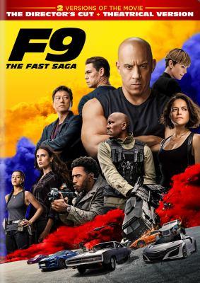 Fast and furious. F9 the Fast saga image cover
