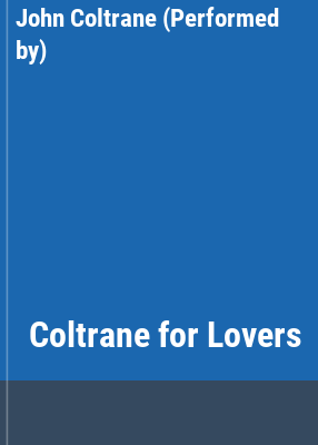 Coltrane for Lovers  cover