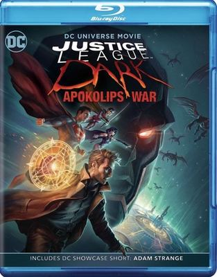 Justice League Dark. Apokolips war DC Universe movie image cover