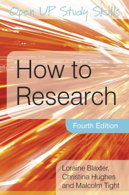 How to research [electronic resource]