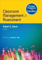 Classroom management & assessment