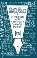 20/20 : 20 great lists by 20 outstanding business thinkers