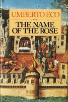 The Name of the Rose by
