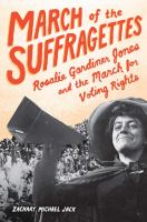 march of suffragettes