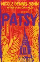 Cover image for Patsy : a novel
