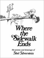 Cover image for Where the sidewalk ends : the poems & drawings of Shel Silverstein