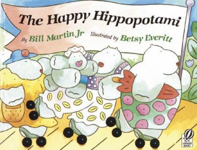 Cover image for The happy hippopotami