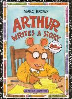 Cover image for Arthur writes a story
