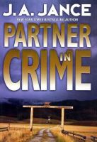 Cover image for Partner in crime