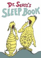 Cover image for Dr. Seuss's sleep book.