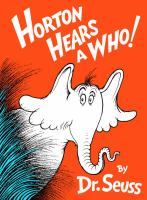 Cover image for Horton hears a Who!