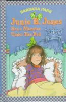 Cover image for Junie B. Jones has a monster under her bed
