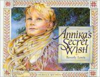 Cover image for Annika's secret wish
