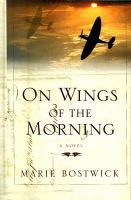 Cover image for On wings of the morning