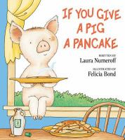 Cover image for If you give a pig a pancake
