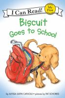 Cover image for Biscuit goes to school