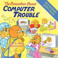 Cover image for The Berenstain Bears' computer trouble