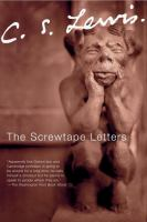 Cover image for The Screwtape letters : with, Screwtape proposes a toast